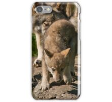 Timber Wolves And Pup iPhone Case/Skin
