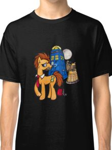 Doctor Whooves - Black Classic T-Shirt