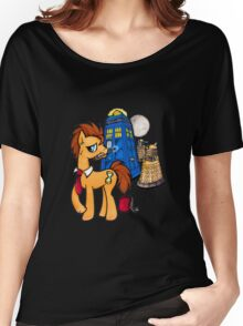 Doctor Whooves - Black Women's Relaxed Fit T-Shirt