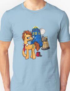 Doctor Whooves - Black Unisex T-Shirt