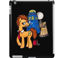 Doctor Whooves - Black iPad Case/Skin