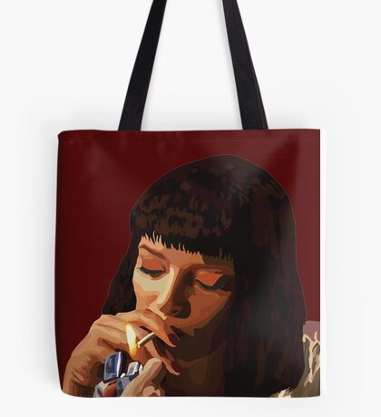 Pulp Fiction - Mia Wallace Tote Bag