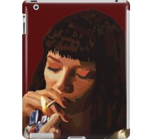 Pulp Fiction - Mia Wallace iPad Case/Skin