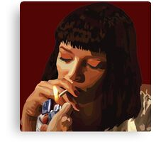 Pulp Fiction - Mia Wallace Canvas Print