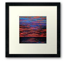 Indian Ocean Sunset 1 Framed Print