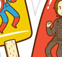 Super Soldier Ice Pops Sticker