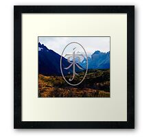 LORD OF THE RINGS LANDSCAPE Framed Print