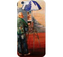The Artist at work iPhone Case/Skin
