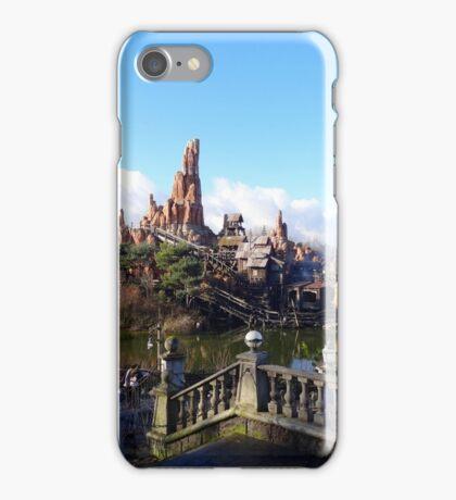 Big Thunder Mountain (view from Phantom Manor) iPhone Case/Skin