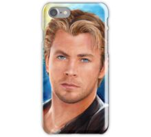 Chris Hemsworth Art iPhone Case/Skin