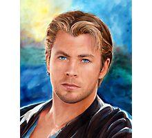 Chris Hemsworth Art Photographic Print