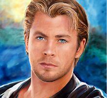 Chris Hemsworth Art by Dacdacgirl