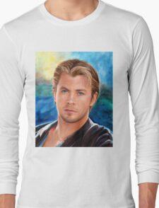 Chris Hemsworth Art Long Sleeve T-Shirt