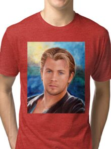 Chris Hemsworth Art Tri-blend T-Shirt