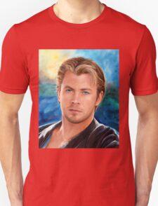 Chris Hemsworth Art Unisex T-Shirt