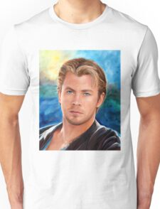 Chris Hemsworth Art Unisex T-Shirt