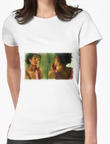 Colourful Erotica by Mary Bassett Womens Fitted T-Shirt