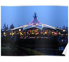 teacups at Disneyland Paris Poster
