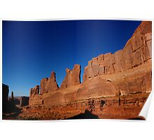 Park Avenue ~ Arches National Park, Utah USA Poster