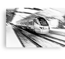 The Gautrain - High Speed Commuter Rail. Canvas Print
