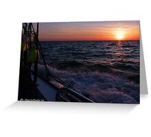 Daybreak on the Chesapeake Bay - Greeting Card Greeting Card