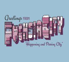 Greetings from Fuchsia City Baby Tee
