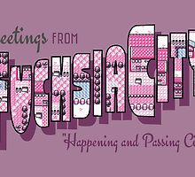 Greetings from Fuchsia City by merimeaux