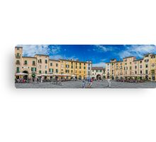 The Piazza of Lucca Italy Canvas Print