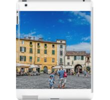 The Piazza of Lucca Italy iPad Case/Skin