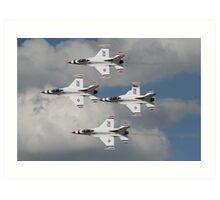 Thunderbirds on edge Art Print