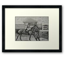 Taunton Races Framed Print