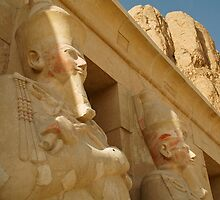 Hatshepsut - Deir El-Bahri by warriorprincess