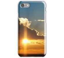 Beautiful sunset sky iPhone Case/Skin