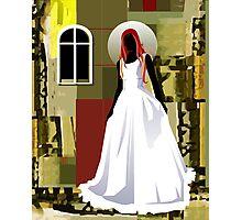 The wedding woman Photographic Print
