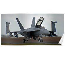 It's a big bug......ok, High Tech Super Hornet then! Poster