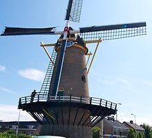 Windmill the four winds by foppe47