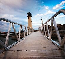 The Harbor Lighthouse by Billy Wand