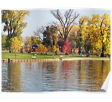 A Beautiful Park off the Saint Croix River Poster