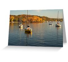 Autumn on the Saint Croix Greeting Card