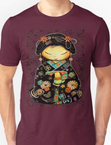 Little Multicolour Teapot Floral  Unisex T-Shirt