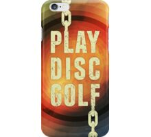 Play Disc Golf iPhone Case/Skin