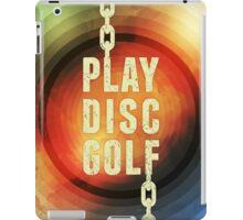 Play Disc Golf iPad Case/Skin