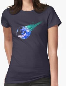 Final Fantasy 7 Cloud Womens Fitted T-Shirt