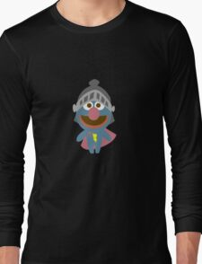 Baby grover in armor baby bodysuits geek funny nerd Long Sleeve T-Shirt