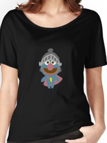 Baby grover in armor baby bodysuits geek funny nerd Women's Relaxed Fit T-Shirt