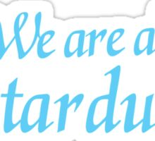 We are all STARDUST Sticker