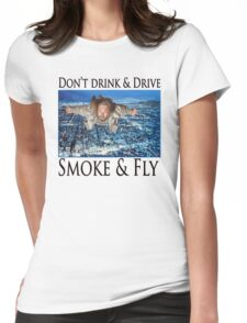 Smoke and Fly Womens Fitted T-Shirt