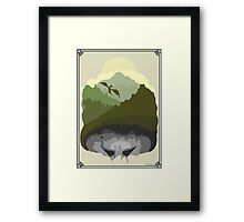 Tamriel Framed Print