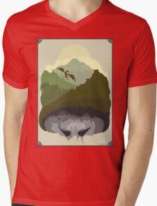 Tamriel Mens V-Neck T-Shirt