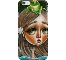 The Princess and the Frog Prince iPhone Case/Skin